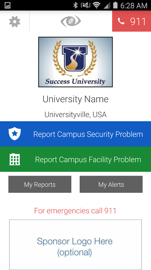 Campus Eye- screenshot