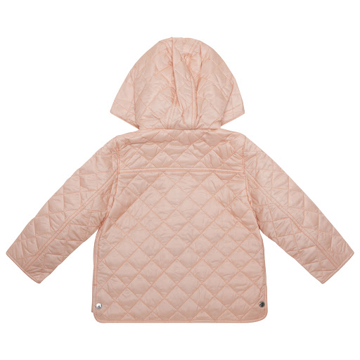 Thumbnail images of Burberry Pink Quilted Jacket