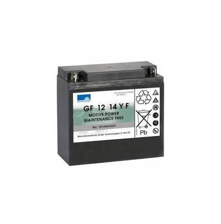 Sonnenschein gelbatteri 12V/14Ah