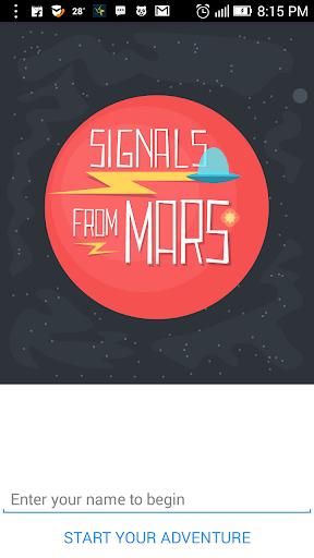 Interactive Story - Mars