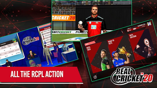 Real Cricket 20 3.6 Apk + Mod (Unlocked) + Data for Android FREE 3
