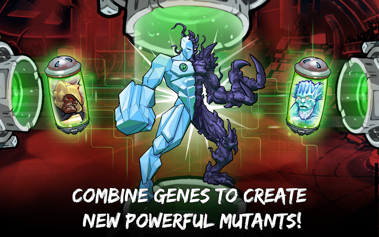 android Mutants: Genetic Gladiators Screenshot 2