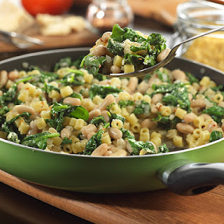 Savory White Beans and Spinach