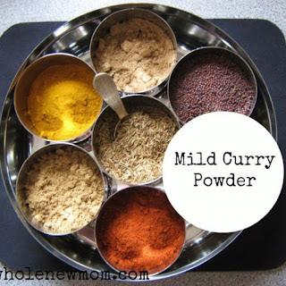 Mild Curry Powder.
