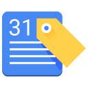 Google Calendar Tags Icon
