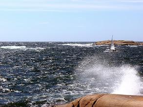 Photo: Revad IF utanför Valön, Bohuslän.