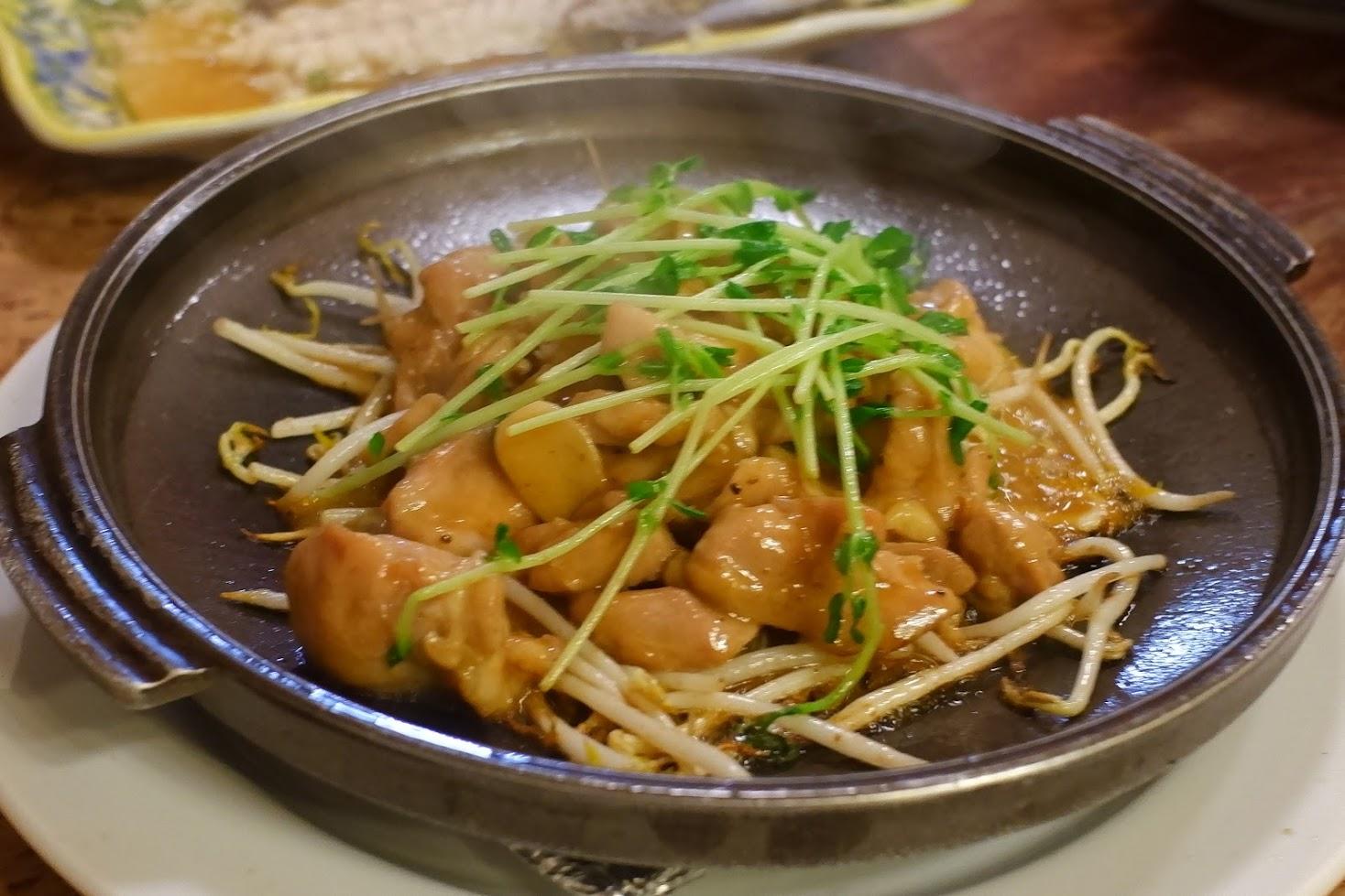 鶏肉の炒めもの