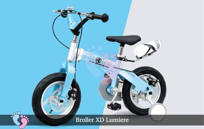 Xe đạp cho bé Broller XD Lumiere ss 2