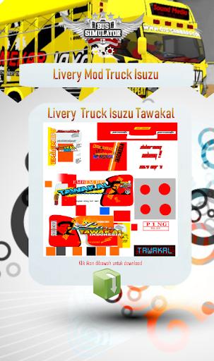 Livery Mod Truck Isuzu NMR71 3.0 screenshots 2