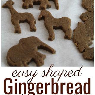 Rolled Gingerbread Cookies (Gluten-Free, Grain-Free).