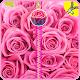 Pink Roses Zipper Lock Screen