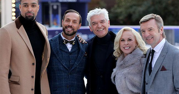 Dancing on Ice bosses fork out on heaters for judges