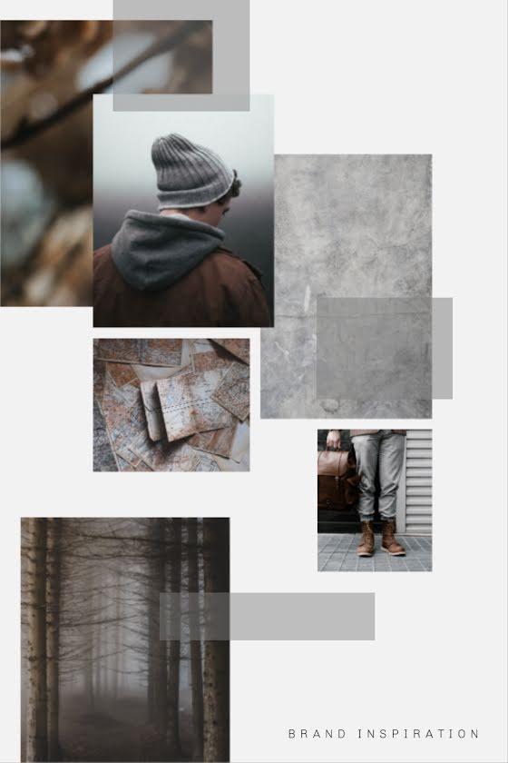 Gray Brand Inspiration - Pinterest Pin Template