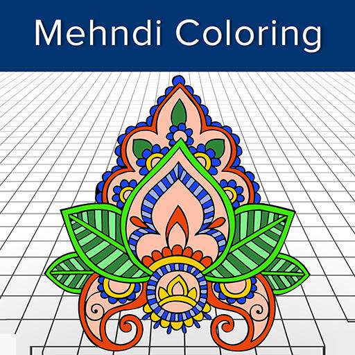 App Insights Mehandi Designs Mehandi Colouring Book