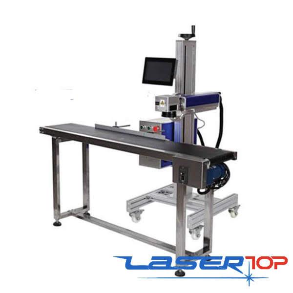 Máy Khắc Laser Tích Hợp Băng Tải