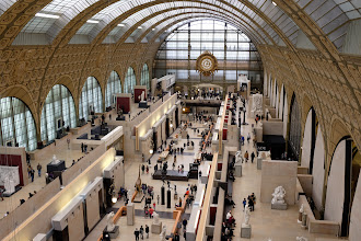 Photo: Inside the Musée d'Orsay