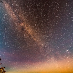 Grand Canyon Milky Way by Cerey Runyon - Landscapes Starscapes
