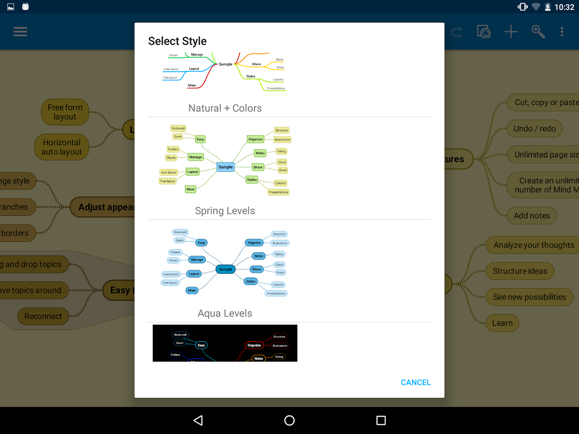 SimpleMind Free mind mapping screenshot #14