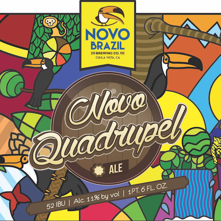 Logo of Novo Brazil Quadrupel