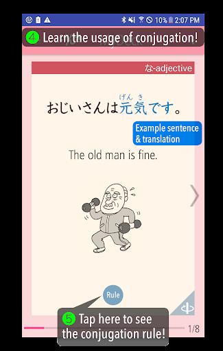 GENKI Conjugation Cards  Windows u7528 2