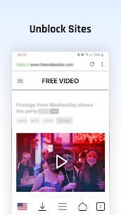 Free VPN Proxy Video Download Browser for Android. 1