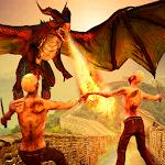 Zombie VS Dragon Hero 2018 - World War Survival 3D Icon