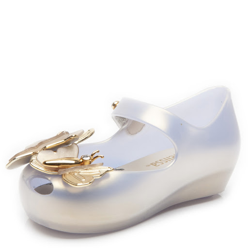 Thumbnail images of Mini Melissa Flutter Jelly Shoes