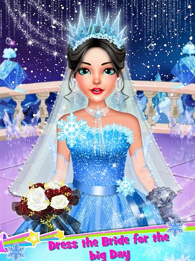 Ice Princess Wedding Dress Up Stylist screenshot 5