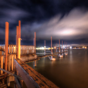 One of the night~ by Kay Eimza - Buildings & Architecture Bridges & Suspended Structures