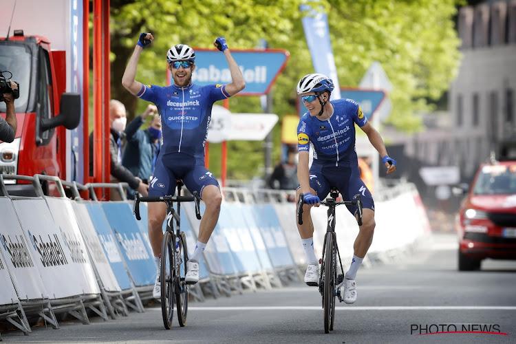 """Ritwinnaar van Deceuninck-Quick-Step heeft lovende woorden voor ploegmaat die tweede werd: """"Zonder hem had ik het niet gehaald"""""""