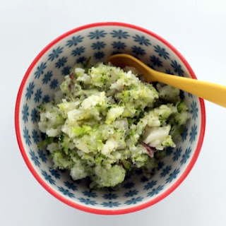 Quick and Easy Mashed Potatoes and Broccoli