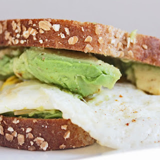 Egg and Avocado on Whole Wheat