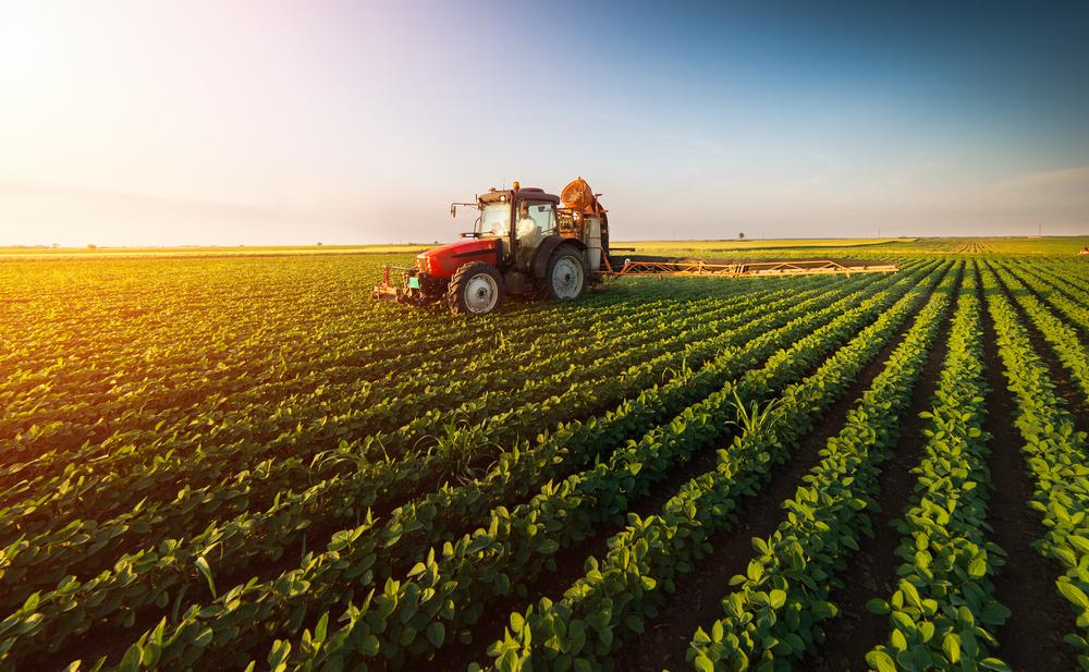 Imagens de satélite facilitam o rastreamento de produções agrícolas espalhadas pelo Brasil. (Fonte: Shutterstock)