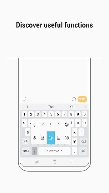 Samsung Keyboard screenshot 1