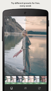 Presco - Edit your photos like a professional Screenshot