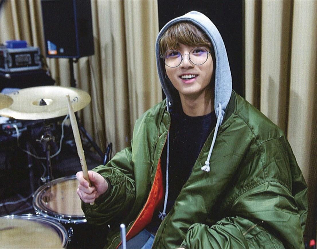 jungkook drums