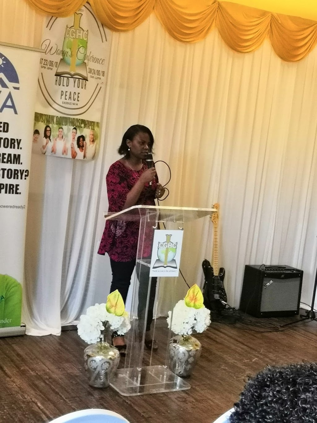 Julie Sylvia Kalungi Motivational speaker