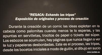"""Photo: 20.09.2014.- HUESCÓMIC 2014 Exposición """"RESACA"""" de Mamen Moreu"""