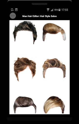 Man Hair Editor : Hair Style Photo Maker  screenshots 4