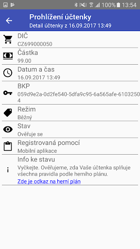 Účtenkovka screenshot 4