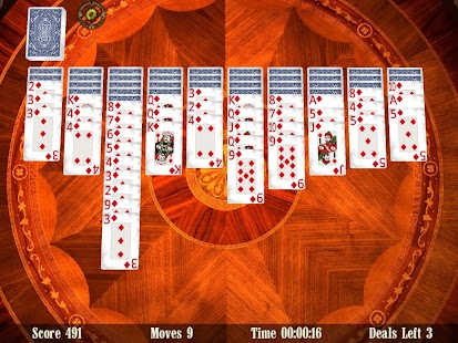 Spider Solitaire 3D (FREE)- screenshot thumbnail
