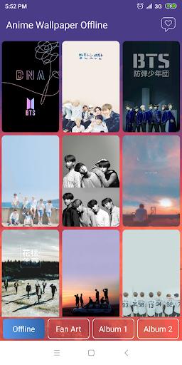 BTS Wallpaper - All Member 5.0 screenshots 1