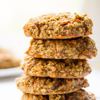 Carrot Cake Quinoa Breakfast Cookies