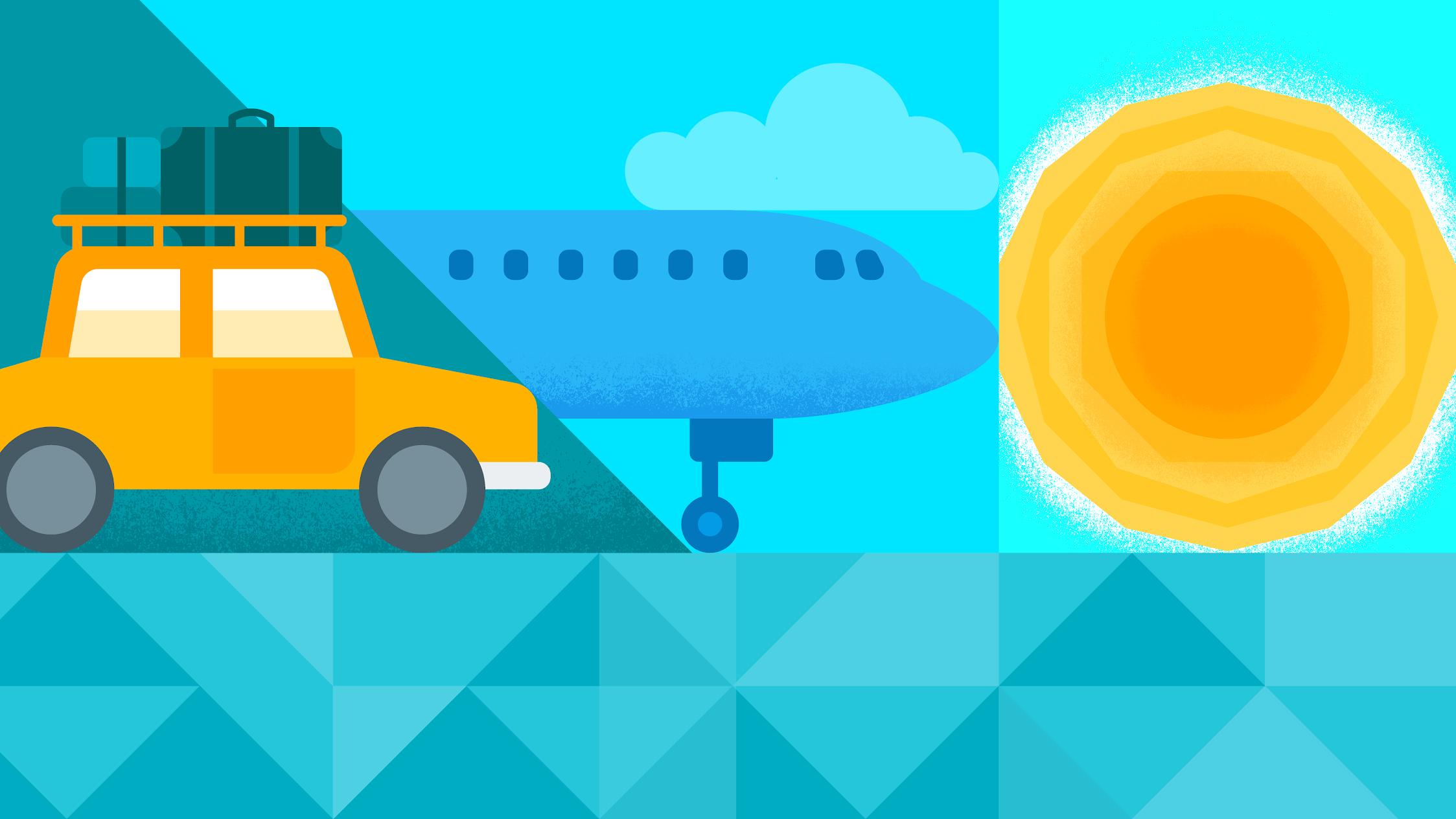 여행도 스마트하게!  항공권 및 호텔 예약 앱