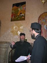 Photo: Fr. Ignatios at the Shepherd's Field monastery