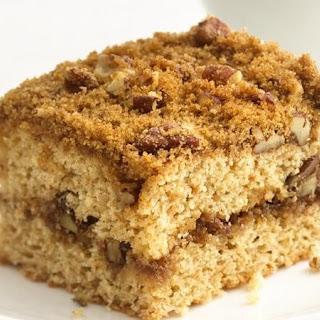 Healthified Streusel Coffee Cake