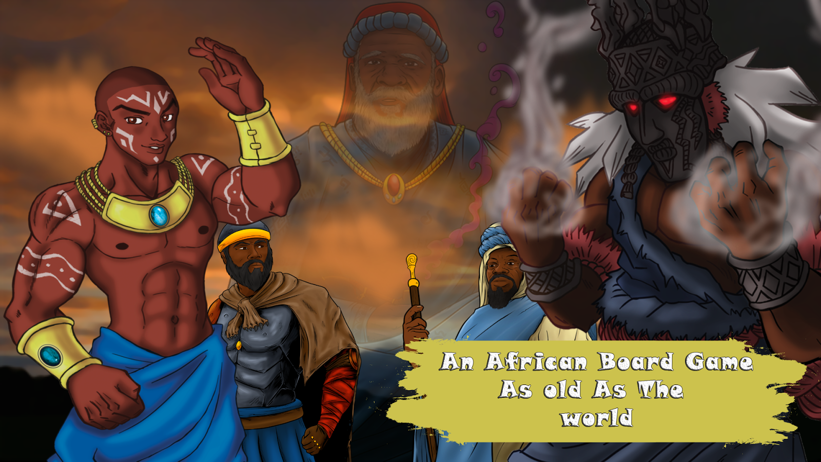 Kissoro Tribal Game- screenshot