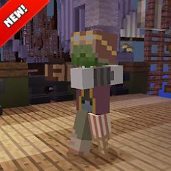 Zombie apocalypse mod for Minecraft PE