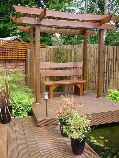 Japanese garden design ideas android apps on google play for Japanese decking garden
