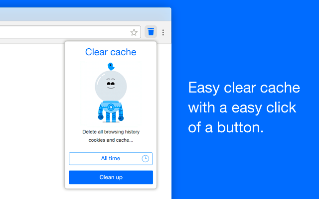 Clear history, cache and cookies for Google ™